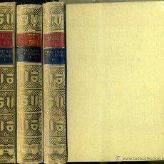 Libros antiguos: FRAY LUIS DE LEÓN :DE LOS NOMBRES DE CRISTO - TRES TOMOS (CLÁSICOS CASTELLANOS, 1931 - 1934 - 1938). Lote 49553451