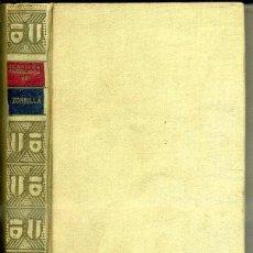 Libros antiguos: ZORRILLA :POESÍAS (CLÁSICOS CASTELLANOS, 1935). Lote 49561060