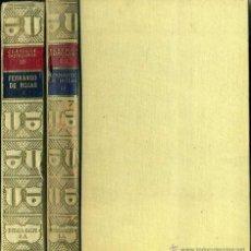 Libros antiguos: FERNANDO DE ROJAS : LA CELESTINA - DOS TOMOS (CLÁSICOS CASTELLANOS, 1931) . Lote 49576546