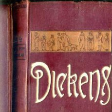 Libros antiguos: DICKENS : CASA POR ALQUILAR (DOMENECH, 1910). Lote 50047167