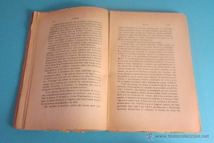 Libros antiguos: ILIADA. SEGUNDO TOMO. HOMERO. TRADUCCIÓN DEL GRIEGO DE LECONTE DE LISLE. VERSIÓN ESPAÑOLA GERMÁN GÓM - Foto 2 - 50159971