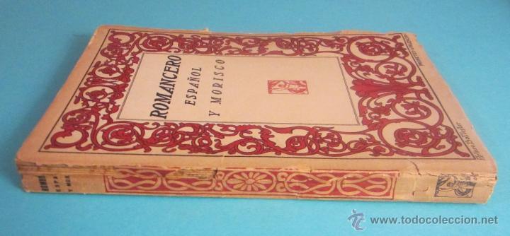 Libros antiguos: ROMANCERO ESPAÑOL Y MORISCO. CUBIERTA DE ARTURO BALLESTER - Foto 2 - 50160021