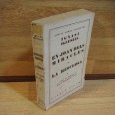 Libros antiguos: IGNASI IGLESIAS OBRAS COMPLETAS TOMO V - EN JOAN DELS MIRACLES. Lote 50264698