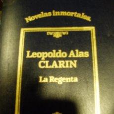 Libros antiguos: LA REGENTA DE LEOPOLDO ALAS CLARÍN 1984. Lote 50335104