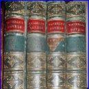 Libros antiguos: AÑO 1871. OBRAS DE WALTER SCOTT EN 4 ELEGANTES VOLÚMENES DEL SIGLO XIX.. Lote 50366753