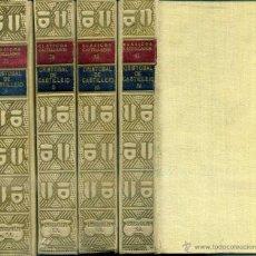 Libros antiguos: CRISTÓBAL DE CASTILLEJO : OBRAS (CLÁSICOS CASTELLANOS, 1927) CUATRO TOMOS. Lote 50372588