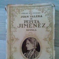 Libros antiguos: PEPITA JIMENEZ BIBLIOTECA NUEVA MADRID 1927. Lote 50471213