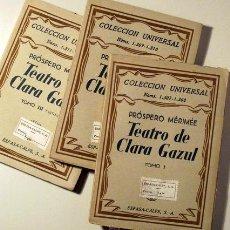 Libros antiguos: MERIMÉE, PRÓSPERO - TRAD. LUIS CERNUDA - TEATRO DE CLARA GAZUL (3 VOL. - COMPLETO) - MADRID 1933 - 1. Lote 50493547