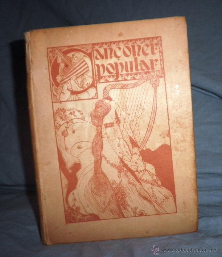 CANÇONER POPULAR - AÑO 1901 - A.CAPMANY - EDICION ORIGINAL ILUSTRADA. (Libros antiguos (hasta 1936), raros y curiosos - Literatura - Narrativa - Clásicos)