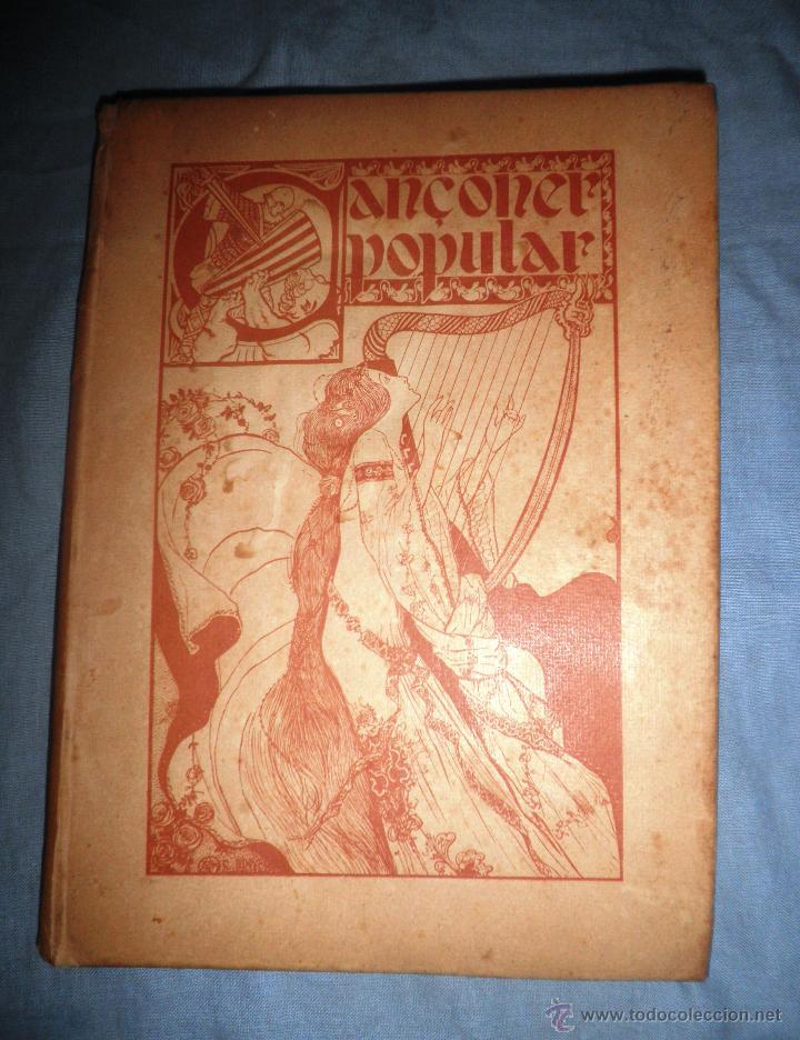 Libros antiguos: CANÇONER POPULAR - AÑO 1901 - A.CAPMANY - EDICION ORIGINAL ILUSTRADA. - Foto 3 - 50561706