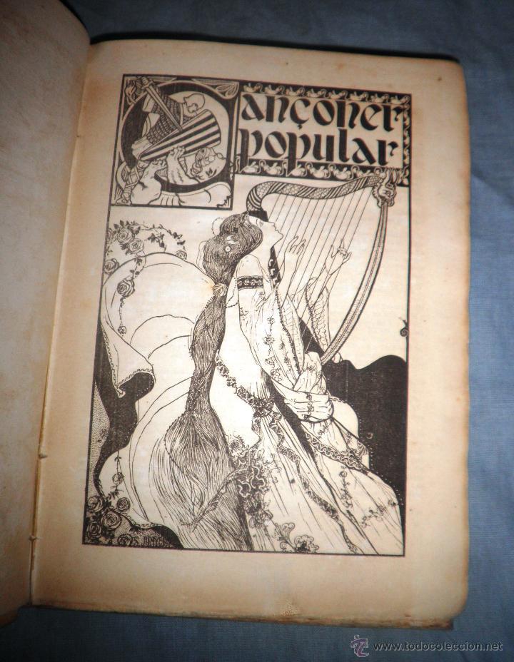 Libros antiguos: CANÇONER POPULAR - AÑO 1901 - A.CAPMANY - EDICION ORIGINAL ILUSTRADA. - Foto 5 - 50561706
