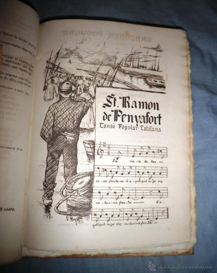 Libros antiguos: CANÇONER POPULAR - AÑO 1901 - A.CAPMANY - EDICION ORIGINAL ILUSTRADA. - Foto 8 - 50561706
