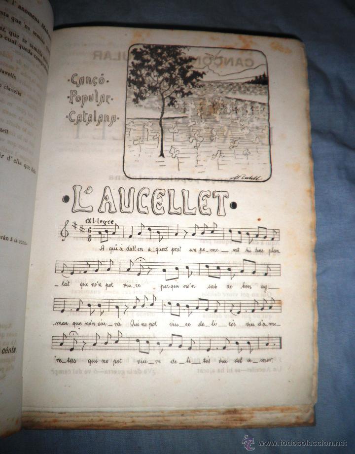 Libros antiguos: CANÇONER POPULAR - AÑO 1901 - A.CAPMANY - EDICION ORIGINAL ILUSTRADA. - Foto 10 - 50561706