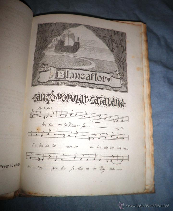 Libros antiguos: CANÇONER POPULAR - AÑO 1901 - A.CAPMANY - EDICION ORIGINAL ILUSTRADA. - Foto 13 - 50561706