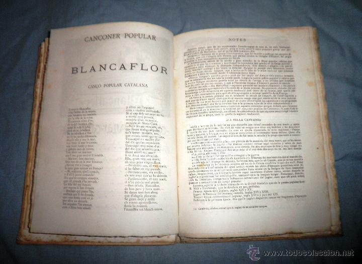 Libros antiguos: CANÇONER POPULAR - AÑO 1901 - A.CAPMANY - EDICION ORIGINAL ILUSTRADA. - Foto 14 - 50561706