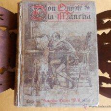Libros antiguos: DON QUIJOTE DE LA MANCHA. EDICIÓN CALLEJA PARA ESCUELAS. ILUSTRACIONES M. ÁNGEL. MAYO 1905.. Lote 50785925