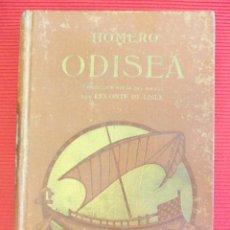 Libros antiguos: ODISEA - HOMERO (TOMO SEGUNDO). Lote 50789046
