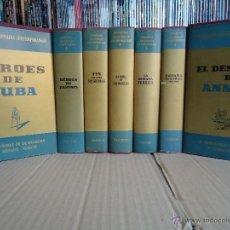 Libros antiguos: LIBROS.EPISODIOS NACIONALES CONTEMPORÁNEOS.7 UNIDADES:VER DESCRIPCIÓN. Y FOTOS.. Lote 51111501