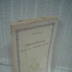 Libros antiguos: LUIS ZAPATA DE CHAVES: MISCELÁNEA. SILVA DE CURIOSOS CASOS. Lote 51115419