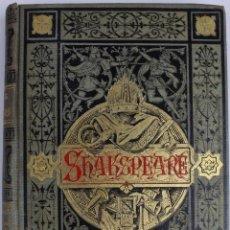 Libros antiguos: L-2373. GUILLERMO SHAKSPEARE. DRAMAS. TRADUCCION JOSÉ ARNALDO. AÑO 1883. Lote 51154238