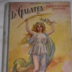 Libros antiguos: LA GALATEA.CERVANTES.. Lote 51229913