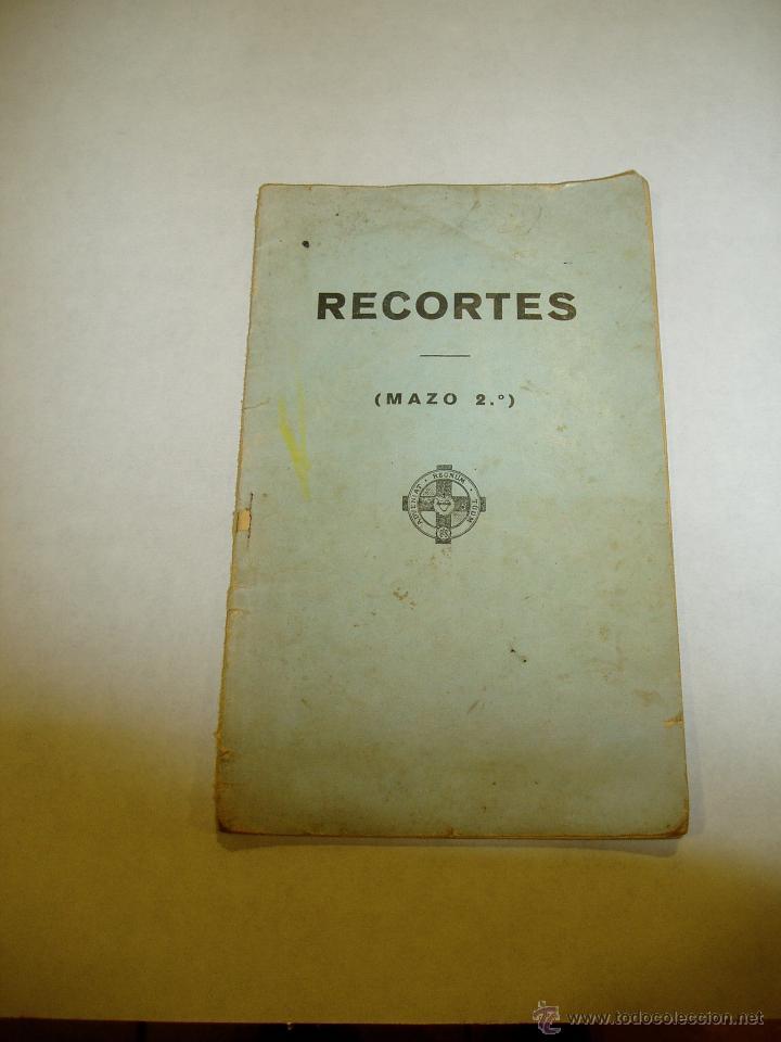 RECORTES , MAZO 2. DE BROMA Y DE VERAS. 1936 (Libros antiguos (hasta 1936), raros y curiosos - Literatura - Narrativa - Clásicos)