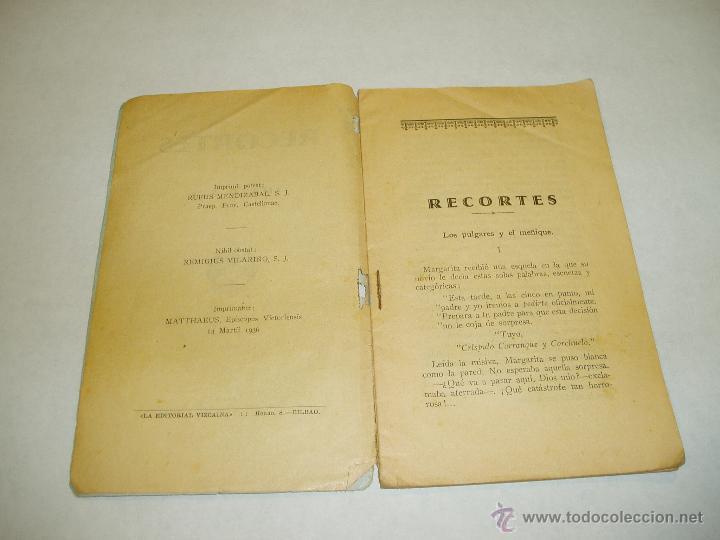Libros antiguos: RECORTES , MAZO 2. DE BROMA Y DE VERAS. 1936 - Foto 3 - 51651332