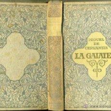 Libros antiguos: CERVANTES : LA GALATEA (DOMENECH, 1916) ILUSTRADO POR ALSINA MUNNÉ. Lote 56799327