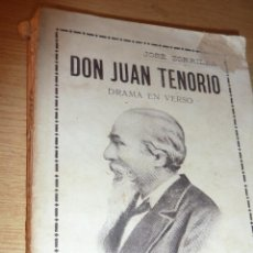 Libros antiguos: DON JUAN TENORIO . JOSE ZORRILLA . ED MAUCCI 1914. Lote 52420472