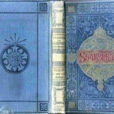 Libros antiguos: DRAMAS DE GUILLERMO SHAKESPEARE (ARTE Y LETRAS MAUCCI, C. 1900). Lote 52449396