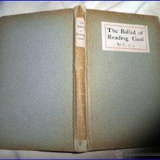 Libros antiguos: 1904: OSCAR WILDE: THE BALLAD OF READING GAOL.. Lote 52560005