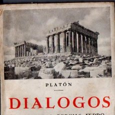 Libros antiguos: PLATÓN : DIÁLOGOS II (BERGUA, C. 1934). Lote 126959835