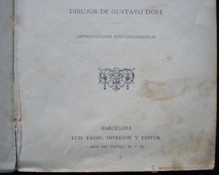 Libros antiguos: PCBROS - DON QUIJOTE DE LA MANCHA - M. DE CERVANTES S. - LUIS TASSO IMPRESOR Y EDITOR - Foto 4 - 53051674
