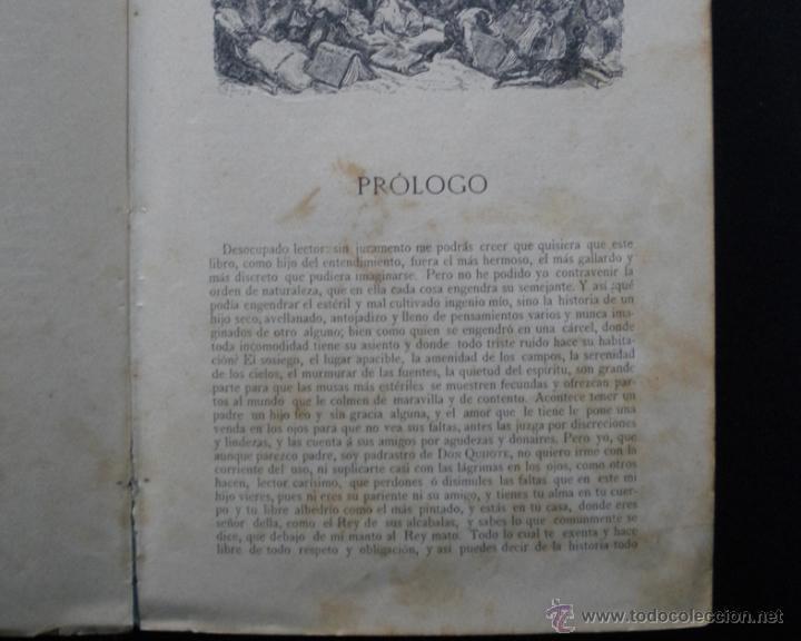 Libros antiguos: PCBROS - DON QUIJOTE DE LA MANCHA - M. DE CERVANTES S. - LUIS TASSO IMPRESOR Y EDITOR - Foto 5 - 53051674