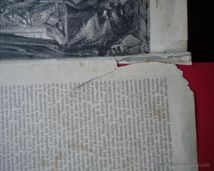 Libros antiguos: PCBROS - DON QUIJOTE DE LA MANCHA - M. DE CERVANTES S. - LUIS TASSO IMPRESOR Y EDITOR - Foto 7 - 53051674