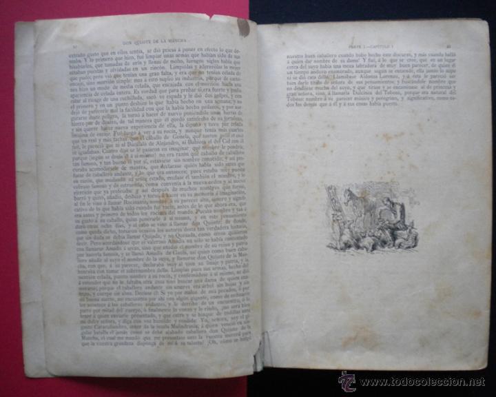 Libros antiguos: PCBROS - DON QUIJOTE DE LA MANCHA - M. DE CERVANTES S. - LUIS TASSO IMPRESOR Y EDITOR - Foto 8 - 53051674