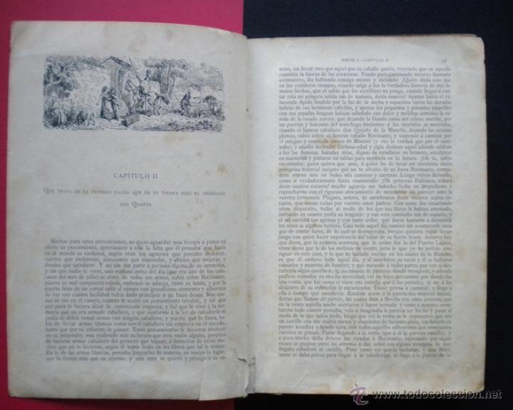 Libros antiguos: PCBROS - DON QUIJOTE DE LA MANCHA - M. DE CERVANTES S. - LUIS TASSO IMPRESOR Y EDITOR - Foto 9 - 53051674
