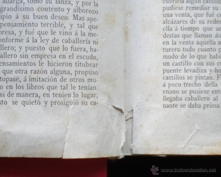 Libros antiguos: PCBROS - DON QUIJOTE DE LA MANCHA - M. DE CERVANTES S. - LUIS TASSO IMPRESOR Y EDITOR - Foto 10 - 53051674