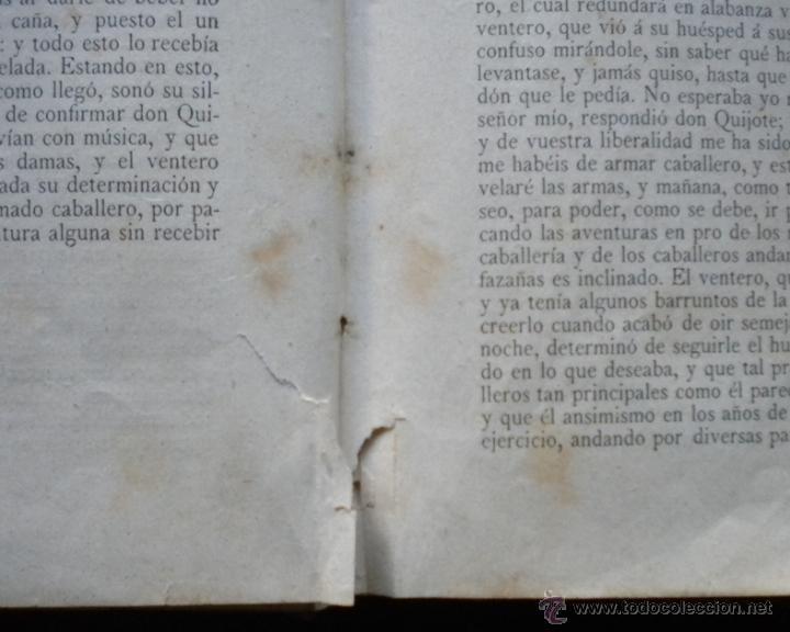 Libros antiguos: PCBROS - DON QUIJOTE DE LA MANCHA - M. DE CERVANTES S. - LUIS TASSO IMPRESOR Y EDITOR - Foto 12 - 53051674