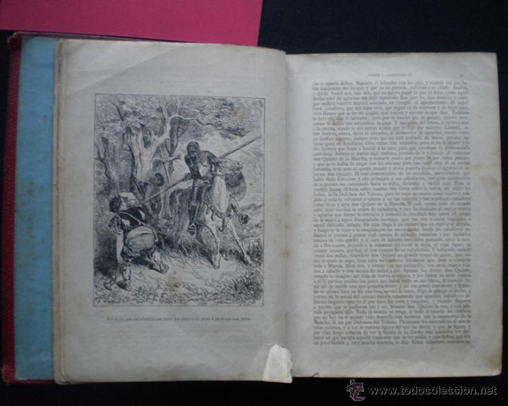 Libros antiguos: PCBROS - DON QUIJOTE DE LA MANCHA - M. DE CERVANTES S. - LUIS TASSO IMPRESOR Y EDITOR - Foto 14 - 53051674