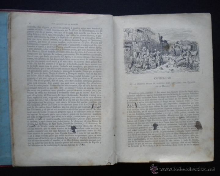 Libros antiguos: PCBROS - DON QUIJOTE DE LA MANCHA - M. DE CERVANTES S. - LUIS TASSO IMPRESOR Y EDITOR - Foto 16 - 53051674