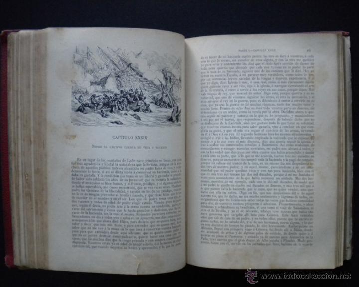 Libros antiguos: PCBROS - DON QUIJOTE DE LA MANCHA - M. DE CERVANTES S. - LUIS TASSO IMPRESOR Y EDITOR - Foto 21 - 53051674