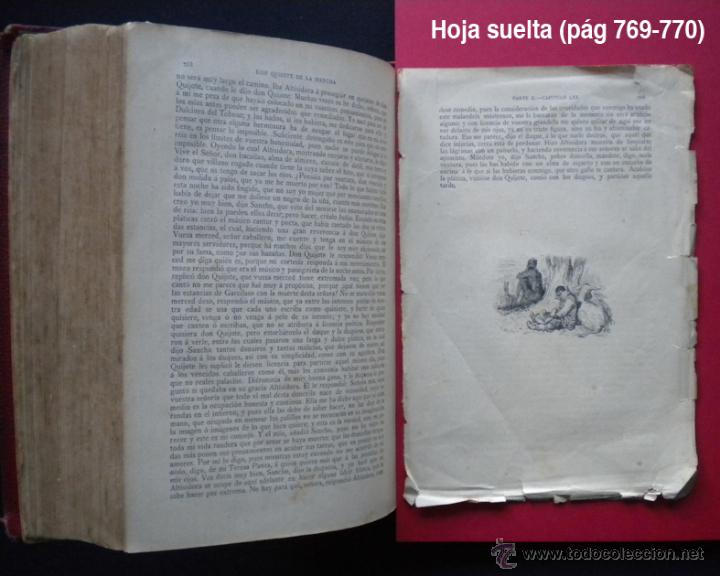 Libros antiguos: PCBROS - DON QUIJOTE DE LA MANCHA - M. DE CERVANTES S. - LUIS TASSO IMPRESOR Y EDITOR - Foto 34 - 53051674