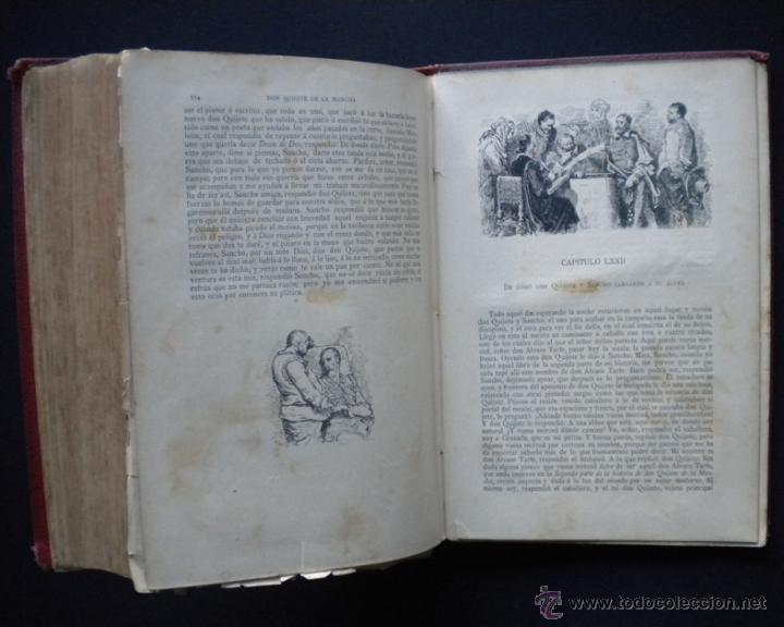 Libros antiguos: PCBROS - DON QUIJOTE DE LA MANCHA - M. DE CERVANTES S. - LUIS TASSO IMPRESOR Y EDITOR - Foto 35 - 53051674
