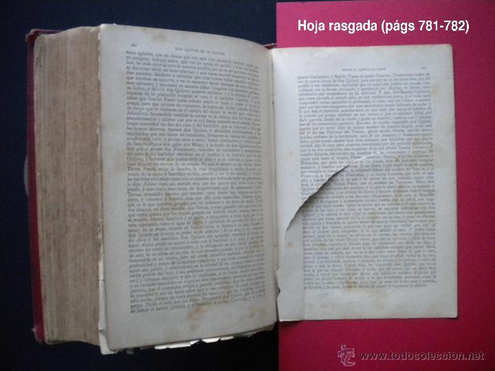 Libros antiguos: PCBROS - DON QUIJOTE DE LA MANCHA - M. DE CERVANTES S. - LUIS TASSO IMPRESOR Y EDITOR - Foto 36 - 53051674