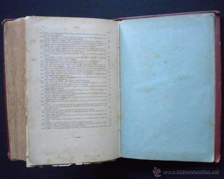 Libros antiguos: PCBROS - DON QUIJOTE DE LA MANCHA - M. DE CERVANTES S. - LUIS TASSO IMPRESOR Y EDITOR - Foto 40 - 53051674