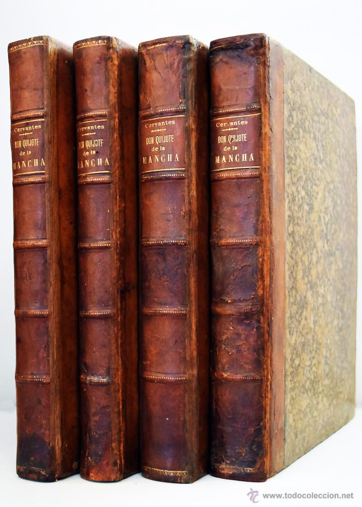 EDITORIAL JOAQUIN IBARRA, MADRID (1780), EL INGENIOSO HIDALGO DON QUIXOTE - QUIJOTE - DE LA MANCHA (Libros antiguos (hasta 1936), raros y curiosos - Literatura - Narrativa - Clásicos)