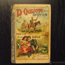 Libros antiguos: DON QUIJOTE DE LA MANCHA, MIGUEL DE CERVANTES SAAVEDRA. Lote 53452192