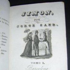Old books - 1838 - GEORGE SAND - SIMON - 53621288