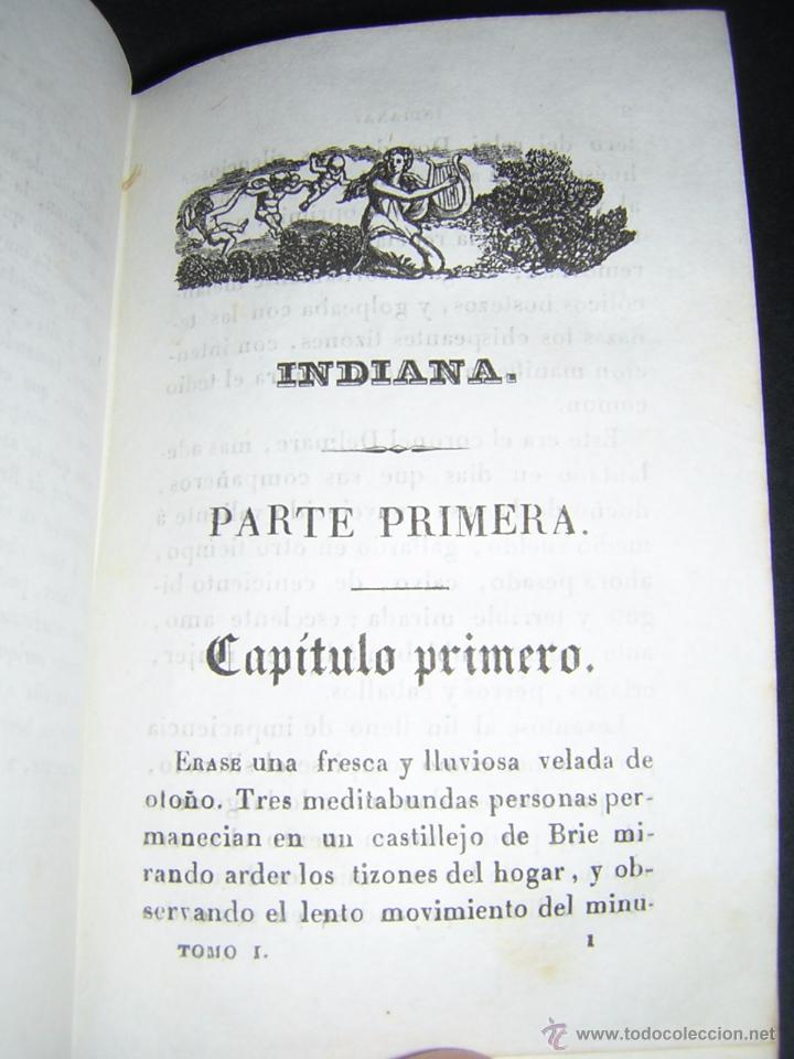 Libros antiguos: 1838 - GEORGE SAND - INDIANA - Foto 5 - 53706152
